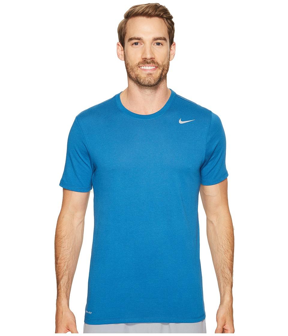 Nike - Dri-FITtm Version 2.0 T-Shirt (Industrial Blue) Men's T Shirt