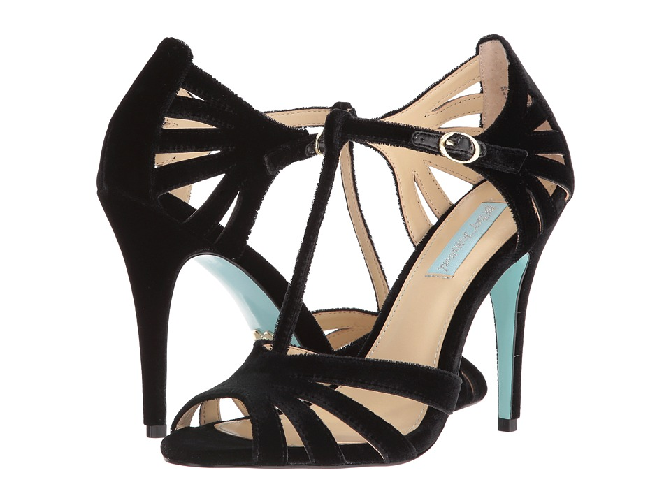 Blue by Betsey Johnson - Tee (Black Velvet) High Heels