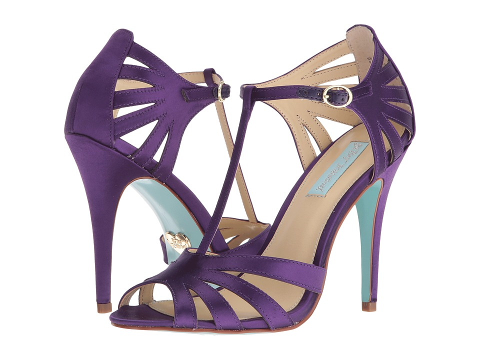 Blue by Betsey Johnson - Tee (Purple Satin) High Heels
