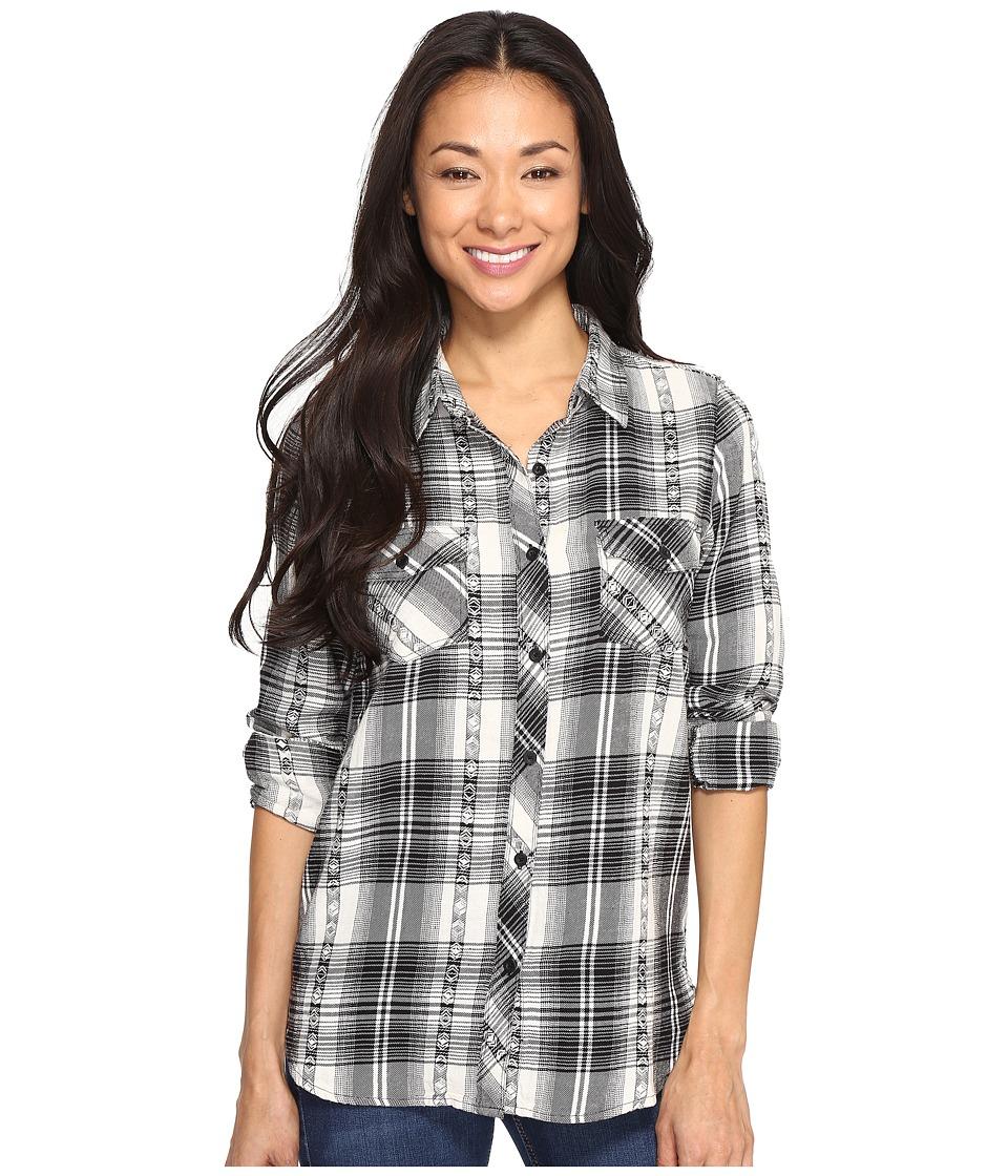 Volcom - Sano Dayz Long Sleeve (Black) Women's Clothing