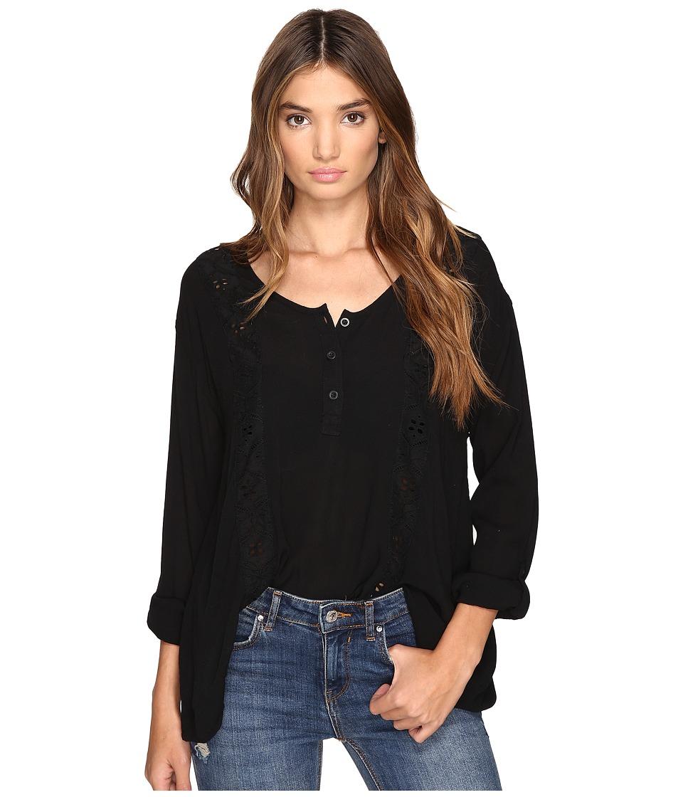 Volcom - Sunset Path Top (Black) Women's Clothing