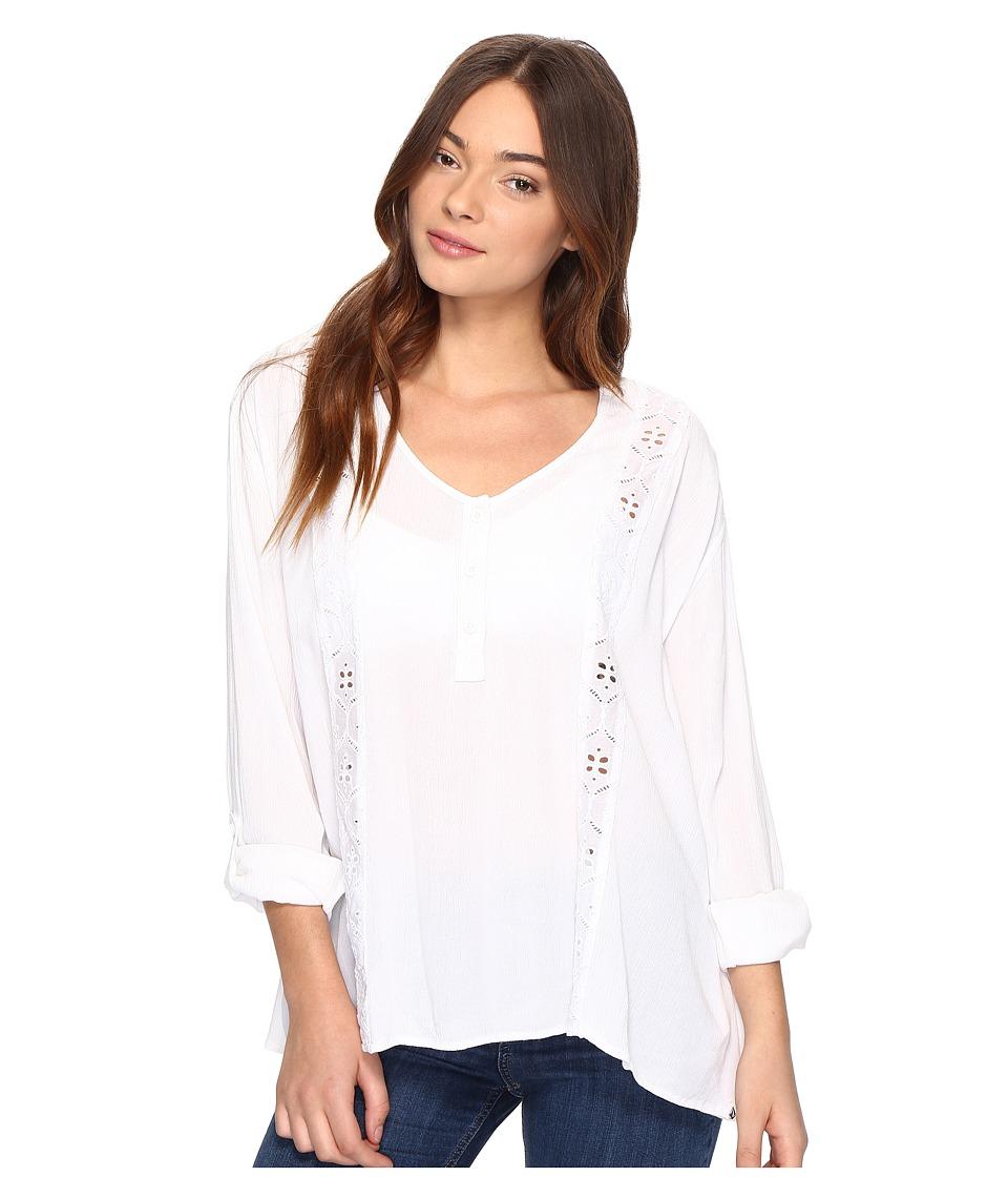 Volcom - Sunset Path Top (White) Women's Clothing