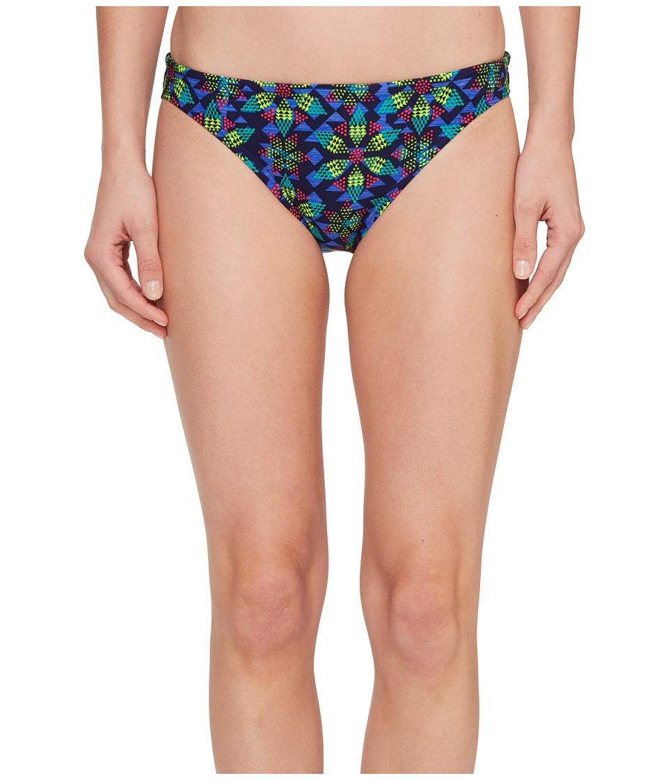 TYR - Edessa Lula Bikini Bottom (Navy/Multi) Women's Swimwear