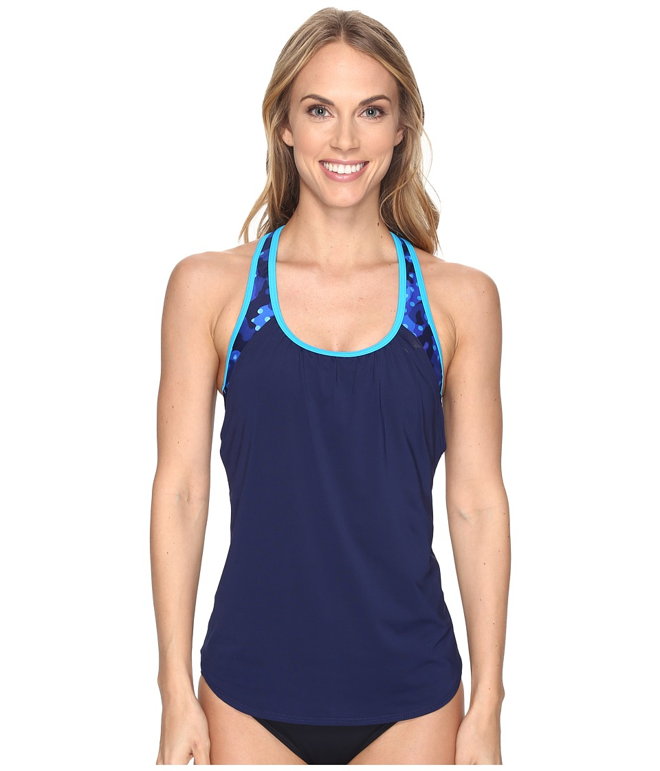 TYR Cadet Solay 2-in-1 Tank Top (Royal/Navy) Women