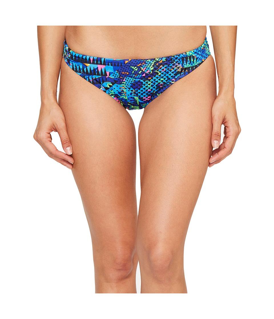 TYR - Machu Bikini Bottom (Blue/Multi) Women's Swimwear