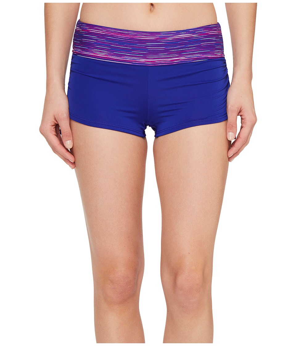 TYR - Cyprus Della Boyshorts (Pink/Purple) Women's Swimwear