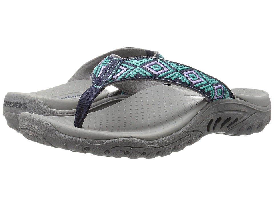 SKECHERS - Reggae - Decorum (Navy) Women's Shoes