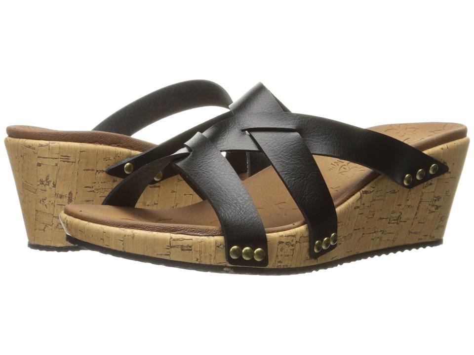 SKECHERS - Beverlee - Cactus Flower (Black) Women's Shoes
