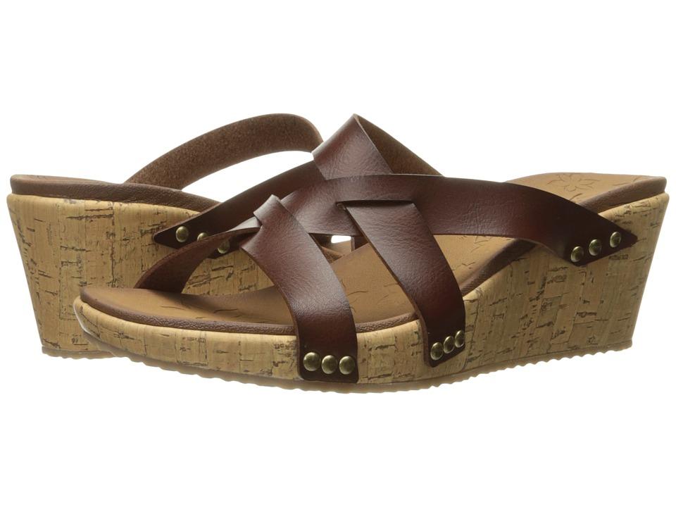 SKECHERS - Beverlee - Cactus Flower (Brown) Women's Shoes
