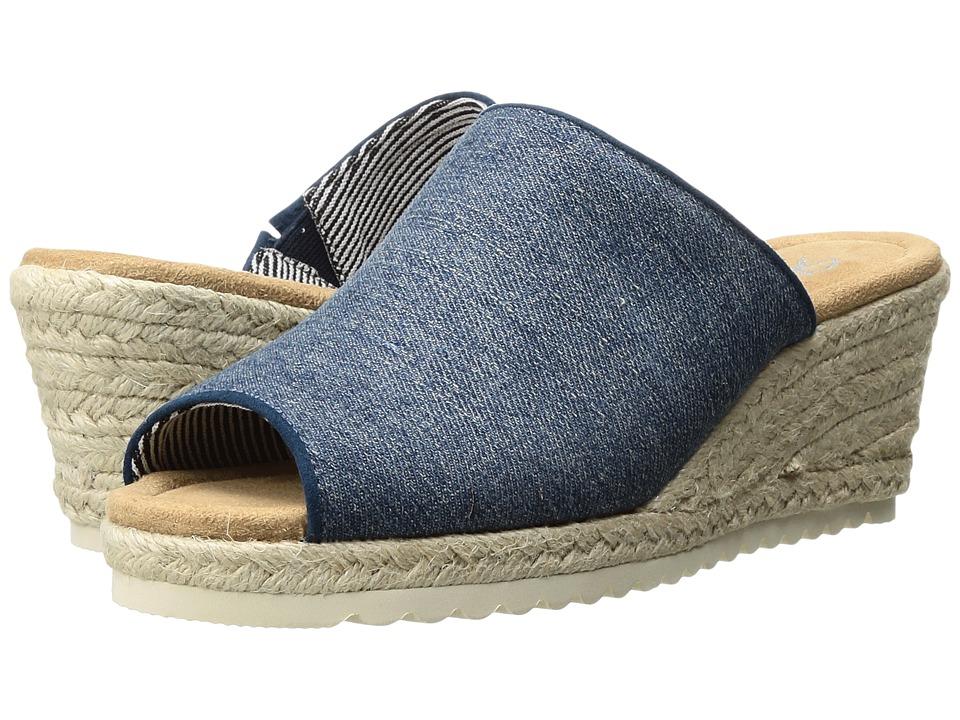SKECHERS - Monarchs - Denim Power (Denim) Women's Shoes