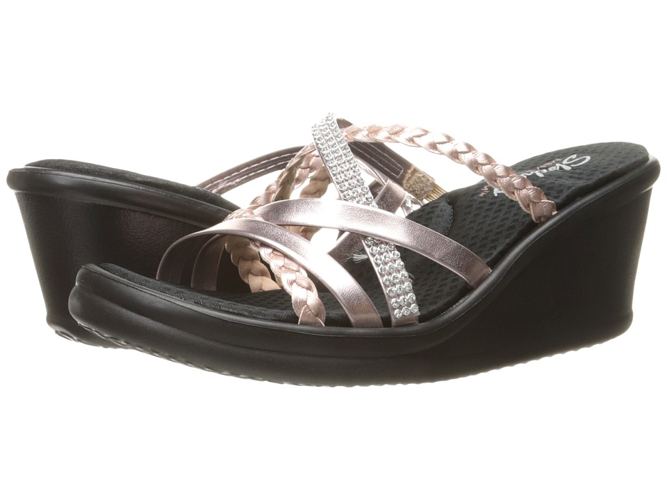 SKECHERS - Rumblers - Wild Child (Rose Gold) Women's Sandals