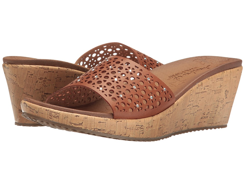 SKECHERS Beverlee Party Hopper (Tan) Women