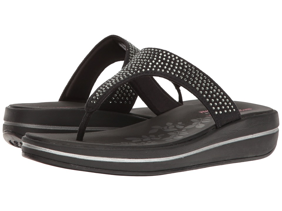 SKECHERS - Upgrades - Stones (Black) Women's Shoes