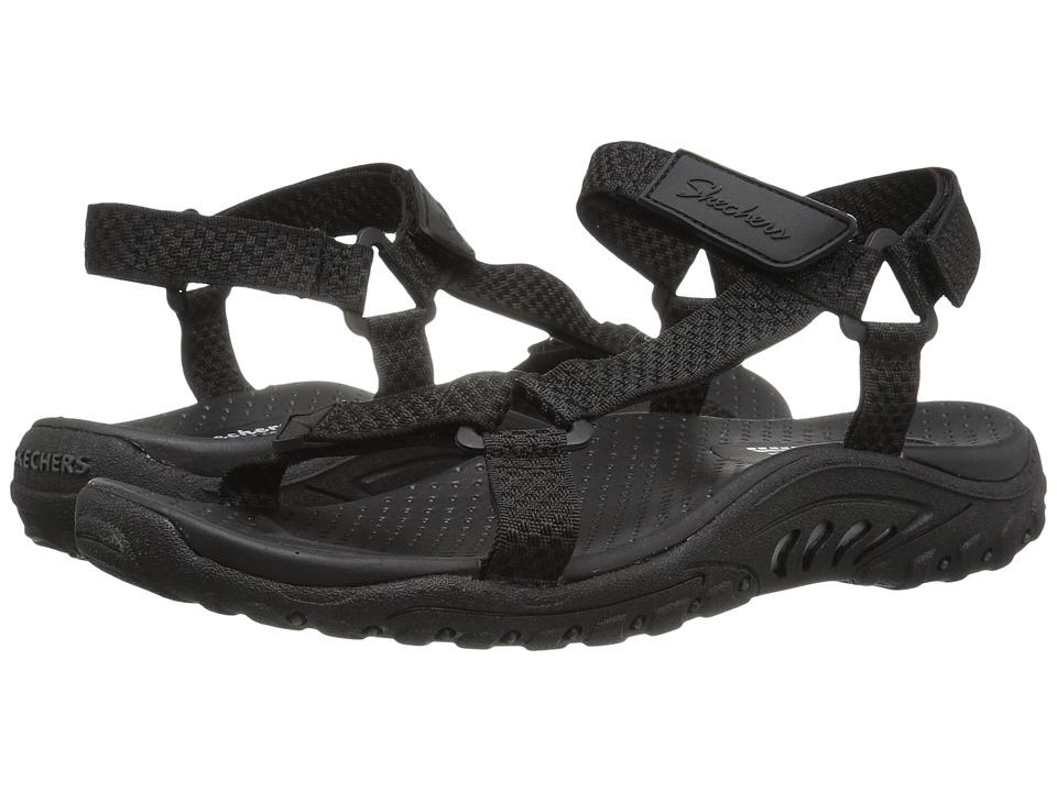 SKECHERS - Reggae - Island (Black) Women's Shoes