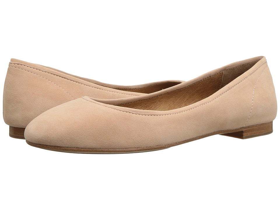 Frye Gloria Ballet (Blush Suede) Women