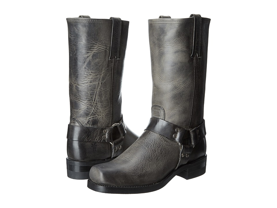 Frye - Harness 12R (Charcoal) Cowboy Boots
