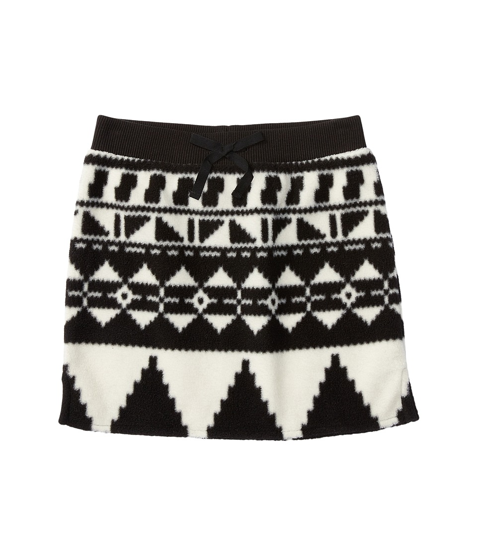 Polo Ralph Lauren Kids - Fleece Skirt (Little Kids) (Black/Cream) Girl's Skirt