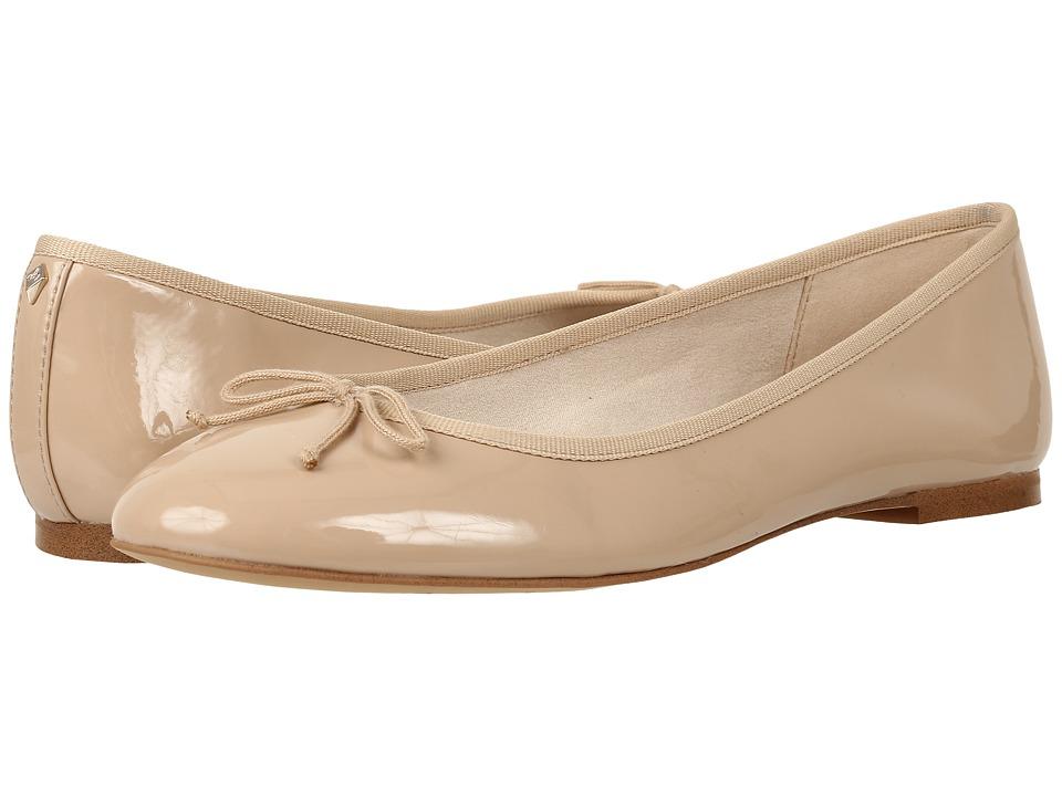 Sam Edelman - Finley (Nude Linen Patent) Women's Sandals