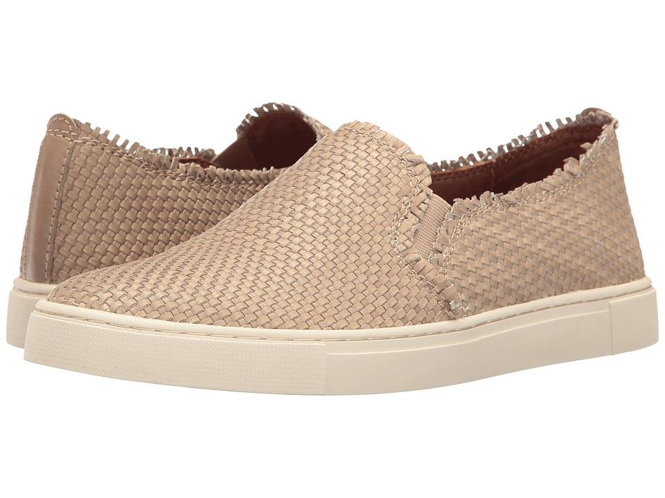 Frye - Ivy Fray Woven Slip-On (Cement Polished Soft Full Grain) Women's Slip on Shoes