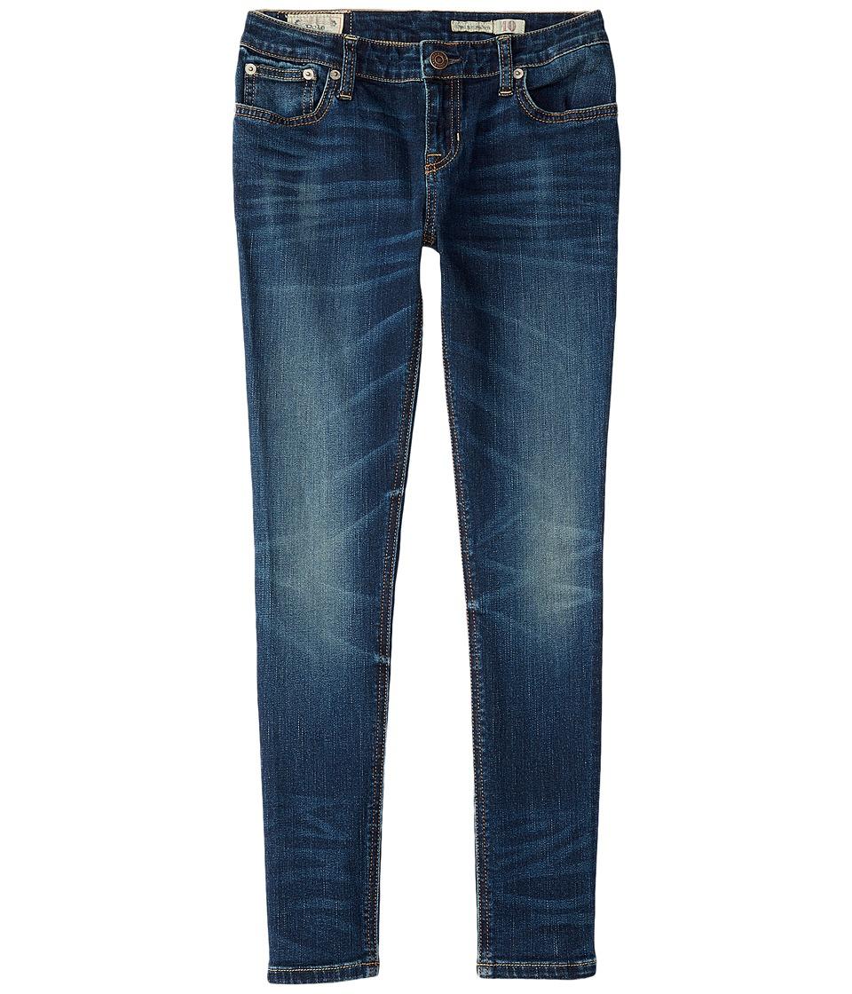 Polo Ralph Lauren Kids - Jemma Jeans In Lucia Wash (Little Kids/Big Kids) (Lucia Wash) Girl's Jeans