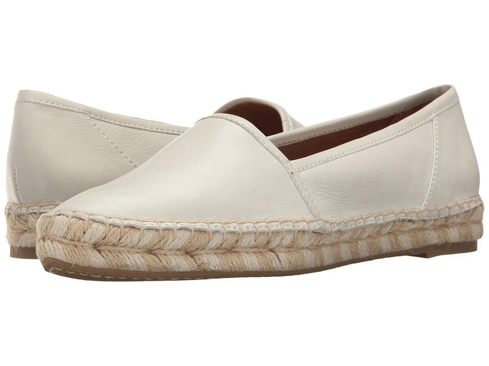 Frye - Lee A Line (White Polished Soft Full Grain) Women's Slip on Shoes