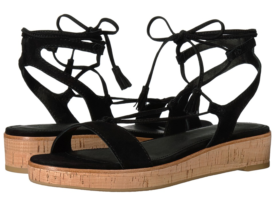 Frye - Miranda Gladiator (Black Suede) Women's Dress Sandals