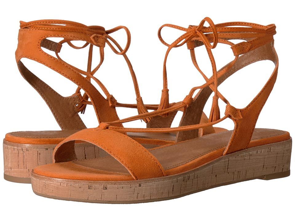 Frye - Miranda Gladiator (Orange Suede) Women's Dress Sandals