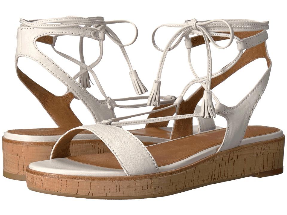 Frye - Miranda Gladiator (White Polished Soft Full Grain) Women's Dress Sandals
