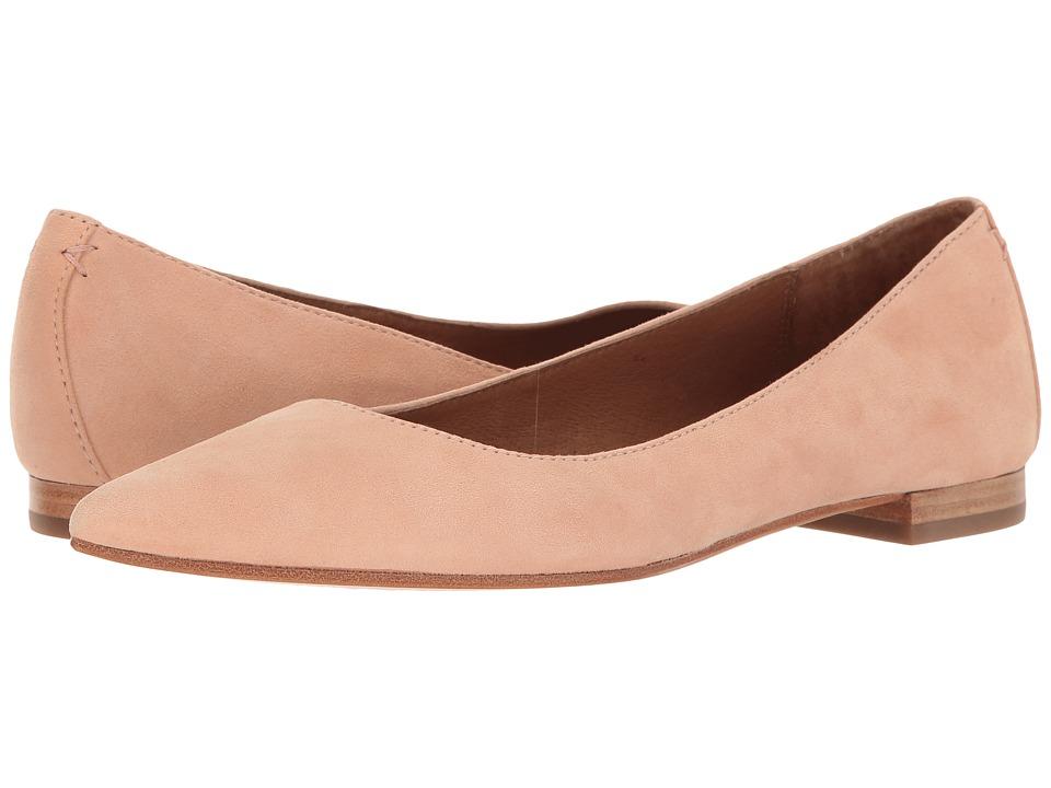 Frye - Sienna Ballet (Blush Suede) Women's Flat Shoes