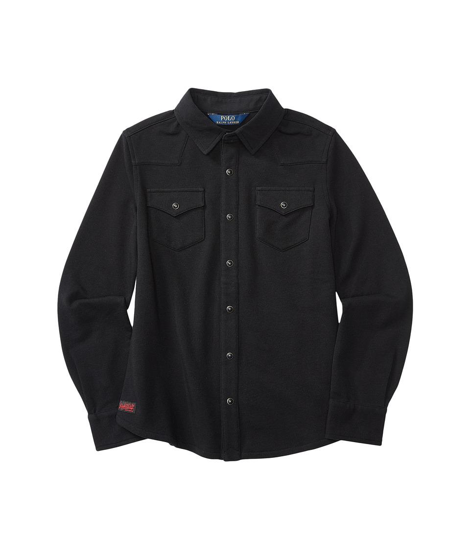Polo Ralph Lauren Kids - Western Shirt (Little Kids/Big Kids) (Collection Black) Girl's Clothing