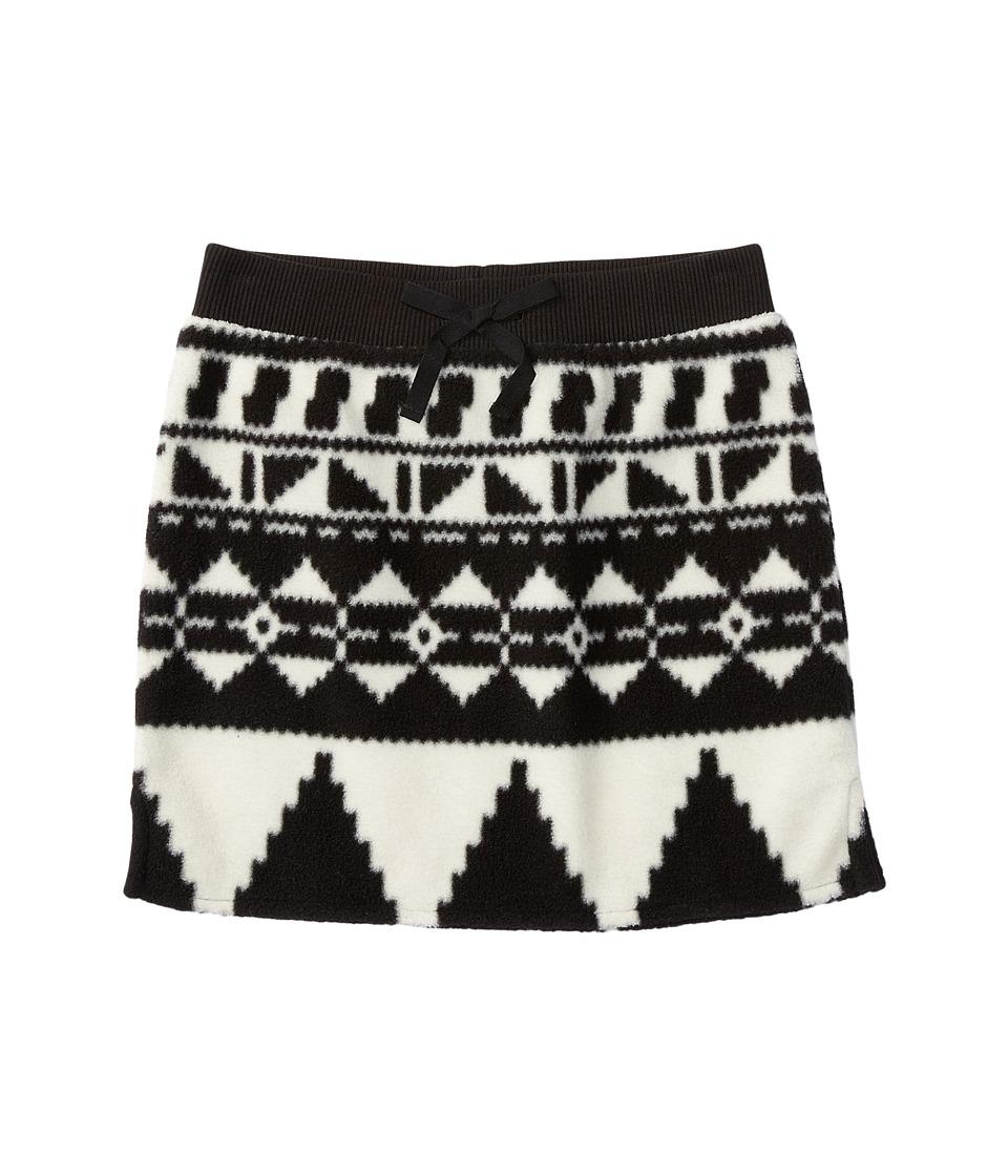 Polo Ralph Lauren Kids - Fleece Skirt (Little Kids/Big Kids) (Black/Cream) Girl's Skirt