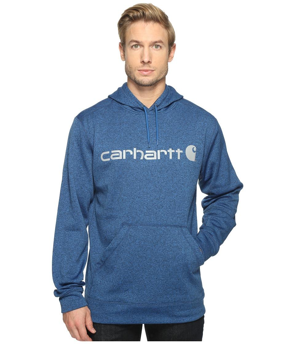 Carhartt - Force Extremes Signature Graphic Hooded Sweatshirt (Huron Heather) Men's Sweatshirt