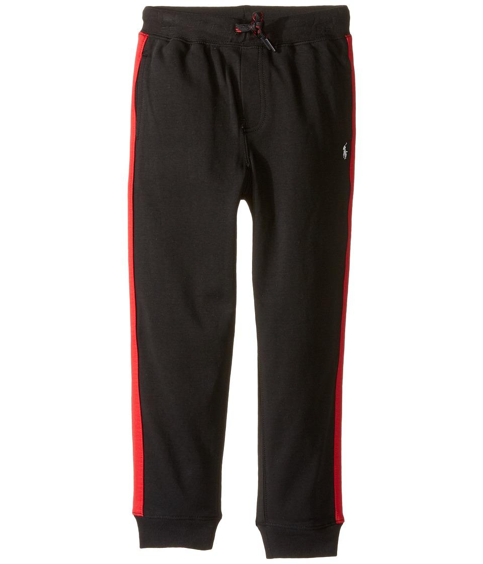 Polo Ralph Lauren Kids - Interlock Pants (Little Kids) (Polo Black) Boy's Casual Pants