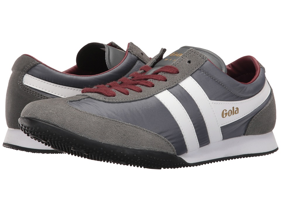 Gola - Wasp (Grey/White/Burgundy) Men's Shoes