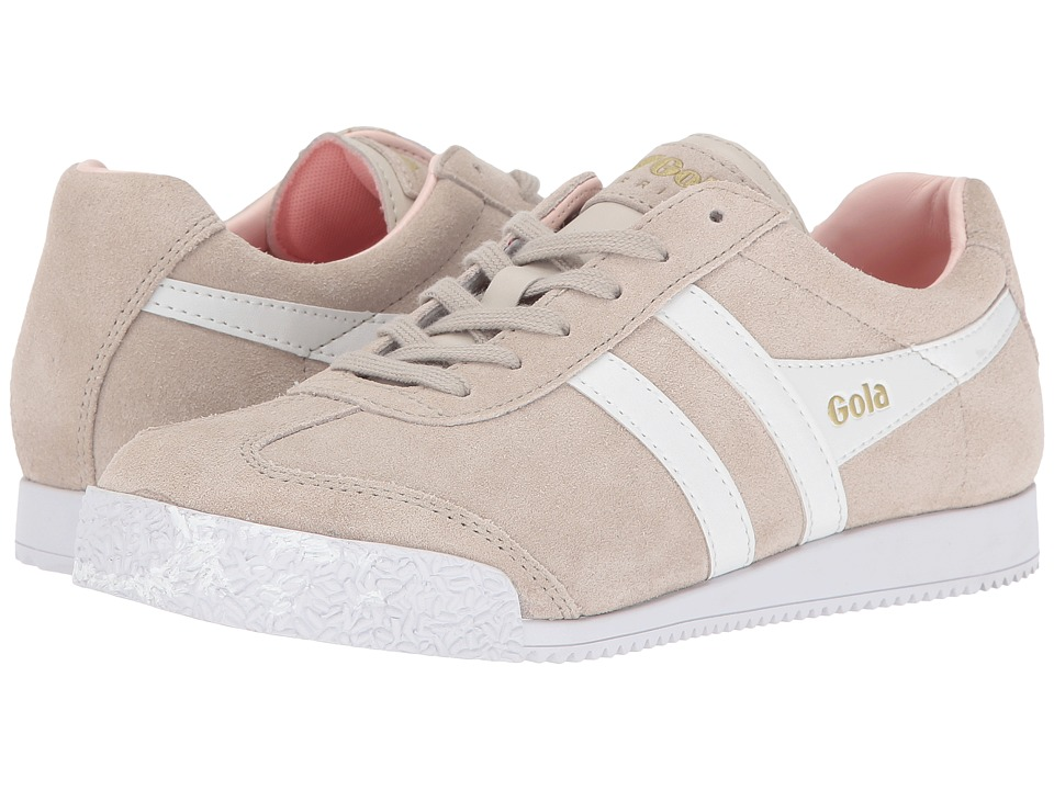 Gola - Harrier (Paloma/White/Rose) Women's Shoes
