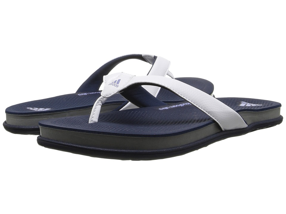 adidas - Cloudfoam Plus Y (Collegiate Navy/Blue/White) Women's Sandals