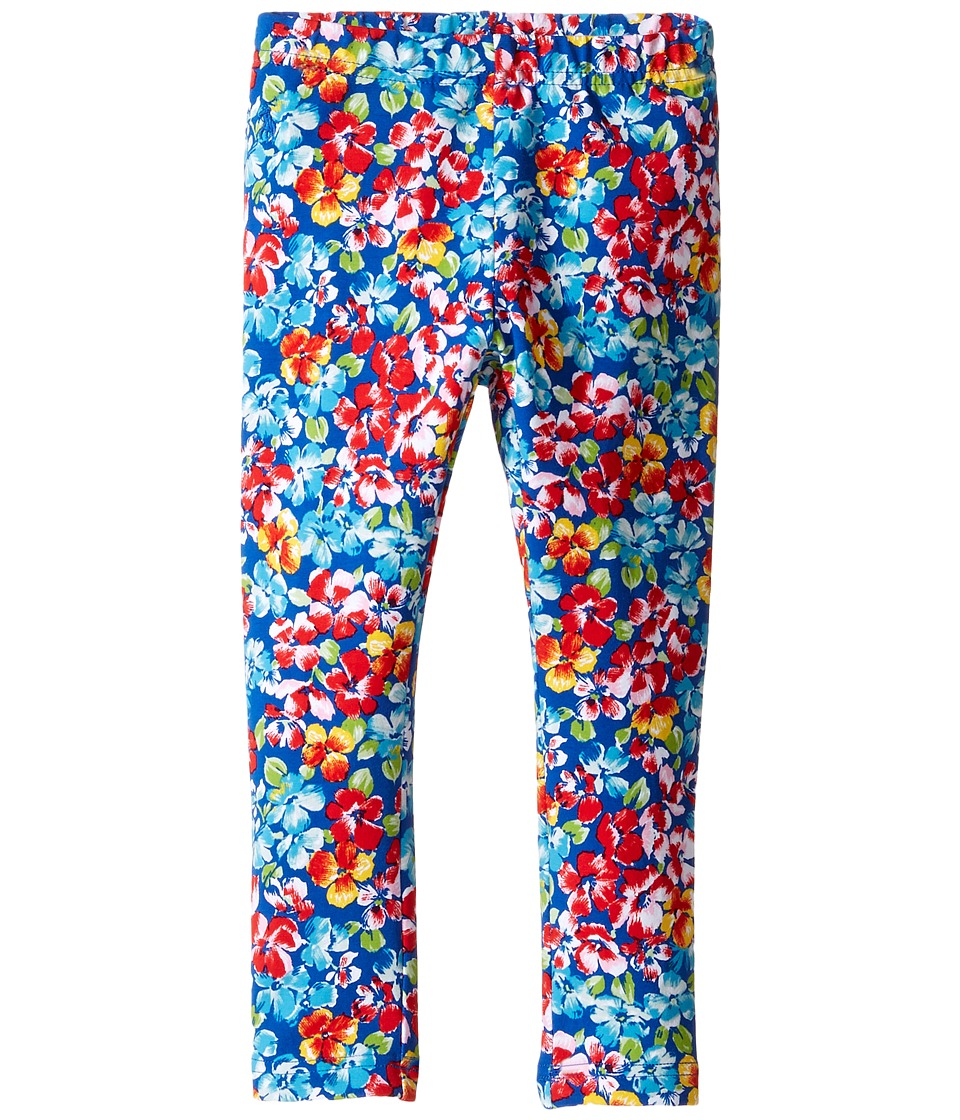 Polo Ralph Lauren Kids - Jersey Floral Leggings (Toddler) (Navy/Pink Multi) Girl's Casual Pants