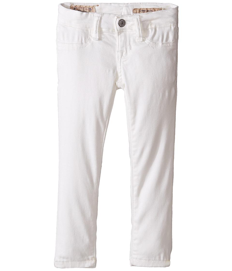 Polo Ralph Lauren Kids - Aubrie Denim Leggings in Lesley Wash (Toddler) (Lesley Wash) Girl's Jeans