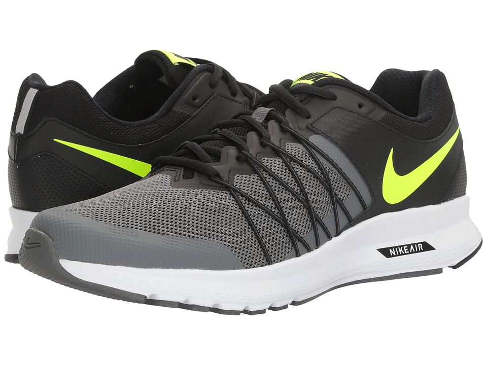 Nike - Air Relentless 6 (Black/Volt/Dark Grey/White) Men's Running Shoes