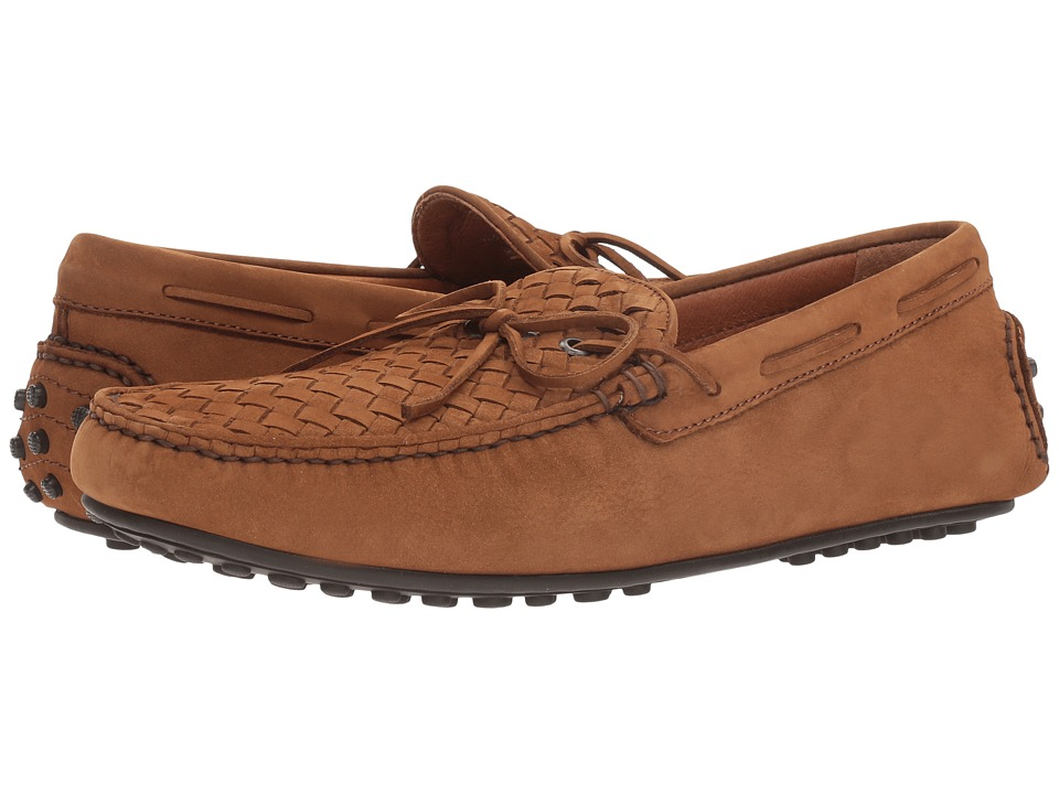 Frye Allen Woven (Tobacco Soft Tumbled Nubuck) Men