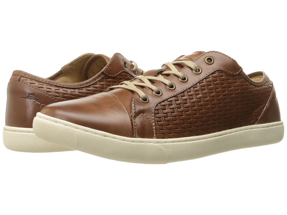 Tommy Bahama Ultan Woven Captoe (Tan) Men