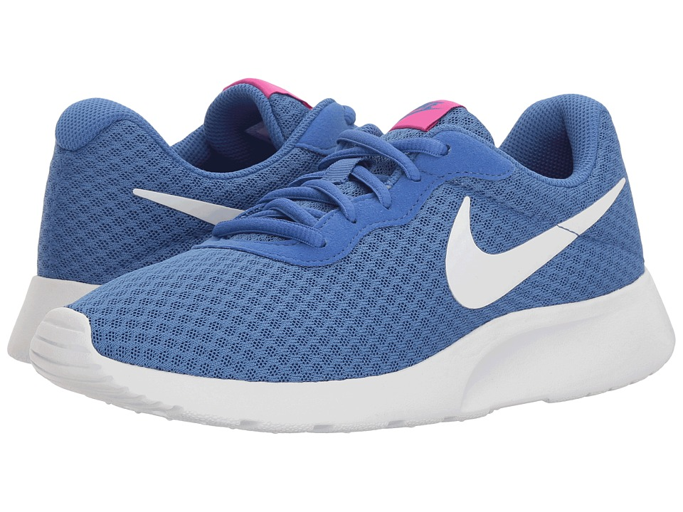 Nike - Tanjun (Solar/White/Chlorine Blue) Women's Running Shoes