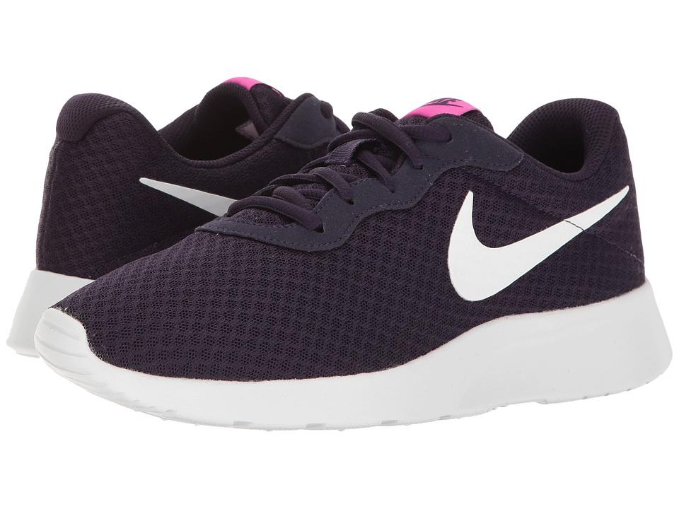 Nike - Tanjun (Purple Dynasty/White/Fire Pink) Women's Running Shoes