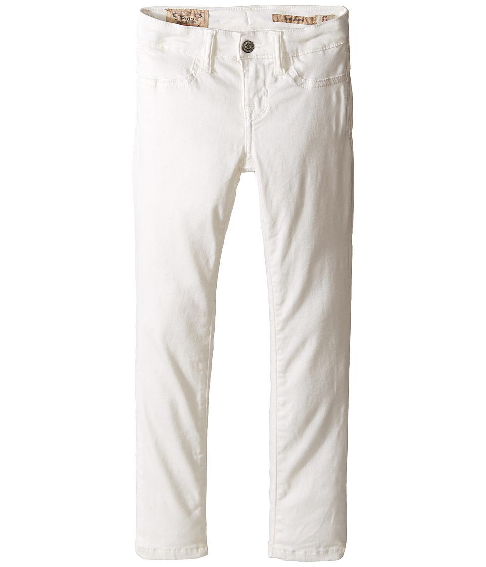 Polo Ralph Lauren Kids - Aubrie Denim Leggings in Lesley Wash (Little Kids) (Lesley Wash) Girl's Jeans