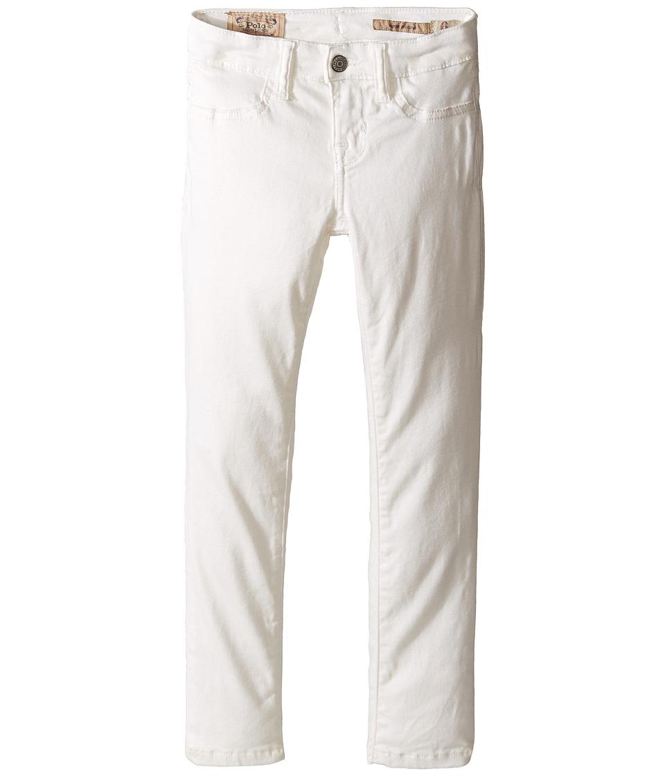 Polo Ralph Lauren Kids - Aubrie Denim Leggings in Lesley Wash (Little Kids) (Lesley Wash) Girl's Jeans