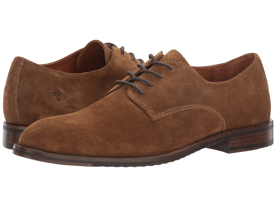 Frye - Sam Derby (Chestnut Soft Oiled Suede) Men's Lace-up Boots