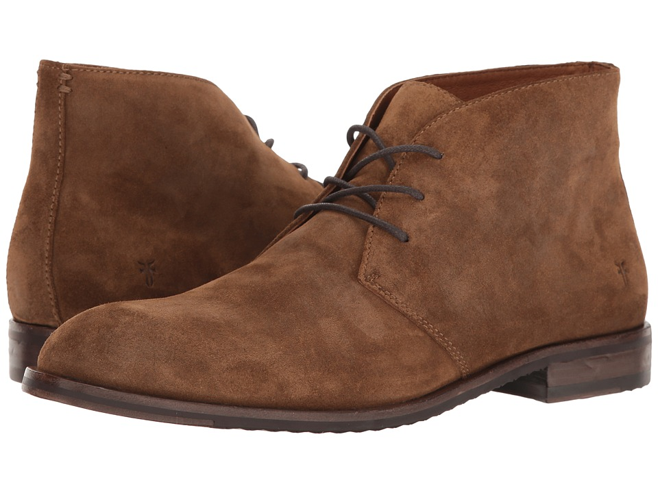Frye - Sam Chukka (Chestnut Soft Oiled Suede) Men's Lace-up Boots