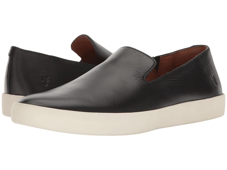 Frye - Tanner Slip-On (Black Smooth Full Grain) Men's Slip on Shoes