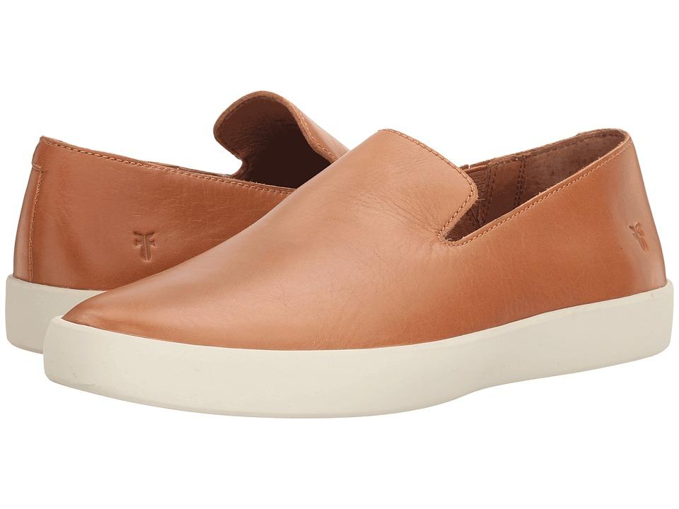 Frye - Tanner Slip-On (Camel Smooth Full Grain) Men's Slip on Shoes