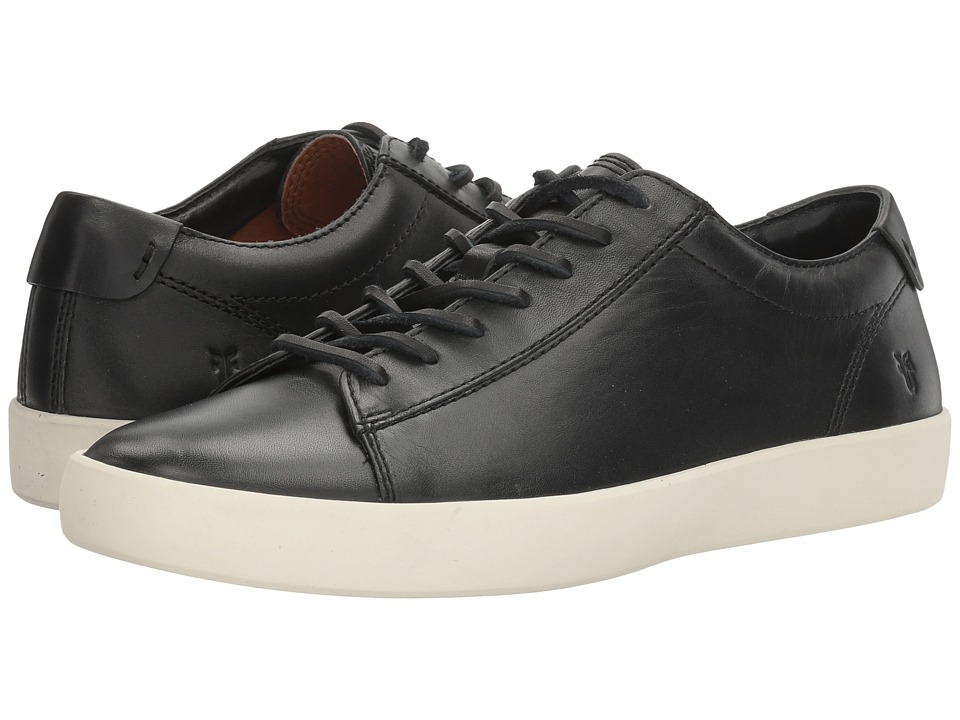 Frye - Tanner Low Lace (Black Smooth Full Grain) Men's Lace up casual Shoes